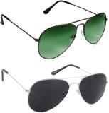 HE D1 Aviator, Aviator Sunglasses (For B...