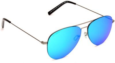 Joe Black JB-812-C2 Aviator Sunglasses(Blue)