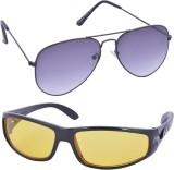 DM AVIO+WAFY Aviator, Wayfarer Sunglasse...