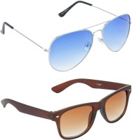 Red Leaf RCMB048_1 Aviator Wayfarer Sunglasses(For Boys)