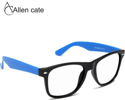 Allen Cate Blue Side Clear Vision Wayfarer Sunglasses