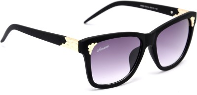 Amaze AM0812 Wayfarer Sunglasses(Grey)