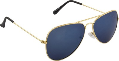 IRAYZ 1245 Aviator Sunglasses(Blue)