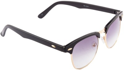 Funky Boys FB-4041C2 Rectangular Sunglasses(Grey)
