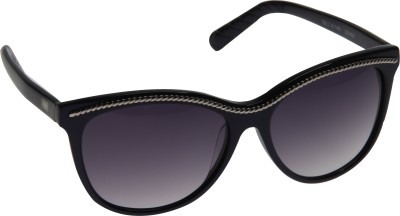 Mango Pickles R-2013 Blue Wayfarer Sunglasses(Black) at flipkart