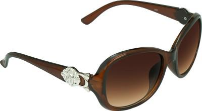 Garmor (8903522114816 /Brown Color Brown Frame) Rectangular Sunglasses