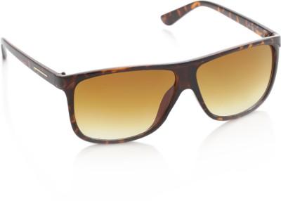 Joe Black JB-497-C3 Rectangular Sunglasses(Brown)