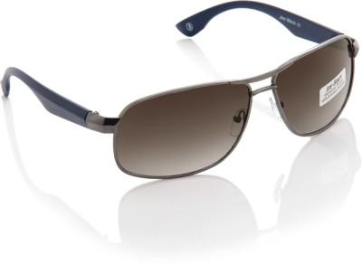Joe Black JB-600-C4 Rectangular Sunglasses(Grey)