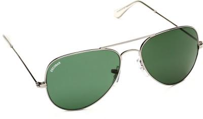 Escobar 911-Grey Aviator Sunglasses