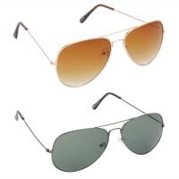 Red Leaf RCMB018_1 Aviator Sunglasses(For Boys)