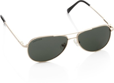 Fastrack M106GR2 Aviator Sunglasses(Green)