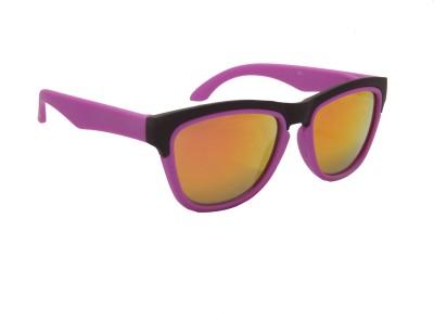 Floyd 403_BLK_PURPLE_FIRE_MERCURY Wayfarer Sunglasses(Yellow)