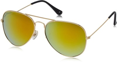 Joe Black C31 Aviator Sunglasses(Golden)