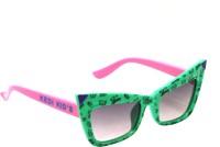 Goggy Poggy FBABY-KD6113-GRN-PNK Wayfarer Sunglasses(For Boys)