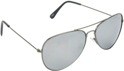 Red Leaf RD-BX142_1 Aviator Sunglasses(Silver)