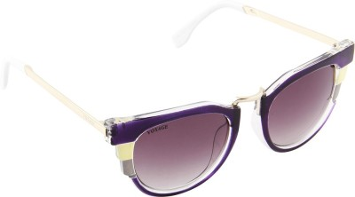 Voyage MG513 Cat-eye Sunglasses(Black)