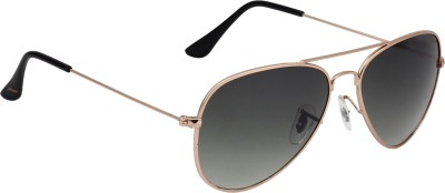 Fave FAV004 Aviator Sunglasses(Brown)