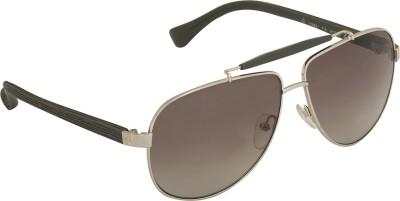 Calvin Klein Ck 1186 714 61 S Aviator Sunglasses(Brown)