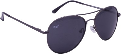 Floyd 121044_GMTL_GREY Aviator Sunglasses(Grey)