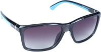 Izarra IZ-425-C2 Wayfarer Sunglasses(Black)