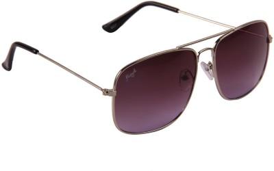 Floyd 54001_SIL_VOILET Rectangular Sunglasses(Violet)