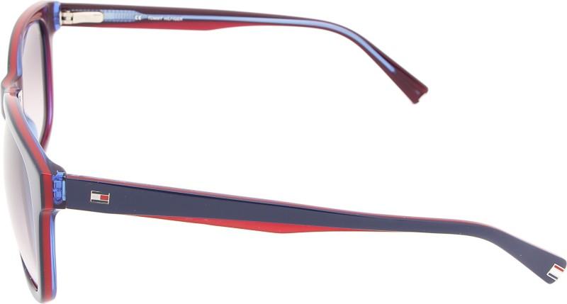 177286800cbe Tommy Hilfiger TH 7959 Blu/Red/Blu C2 58 S Wayfarer Sunglasses(Brown