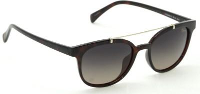 IZARRA Retro Polorized Round Sunglasses