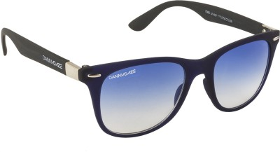 Danny Daze D-2900-C7 Wayfarer Sunglasses(Blue)