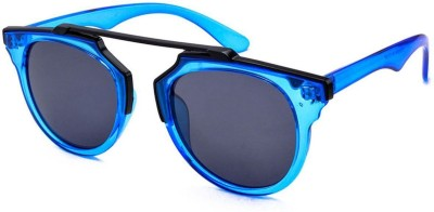 Stacle High Fashion Round Sunglasses