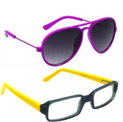 Goggy Poggy 6305 Rectangular Sunglasses