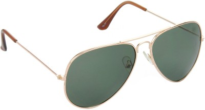 Red Leaf RD-BX05_1 Aviator Sunglasses(Green)