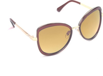 6by6 SG505 Over-sized Sunglasses(Brown)