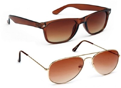Simran Aviator, Wayfarer Sunglasses