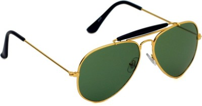 6by6 SG1406 Aviator Sunglasses(Green)
