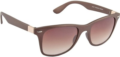IRAYZ 1209 Wayfarer Sunglasses(Brown)
