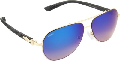 Voyage 1878MG1105 Aviator Sunglasses(Blue)