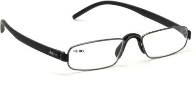 40 XPLUS Reading EyeGlass Power +3.00 Rectangular Sunglasses