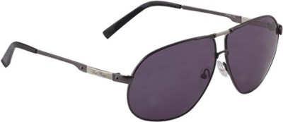 Louis Philippe LP203 C2 Aviator Sunglasses(Violet)