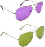 Buyyo CREATION734 Aviator Sunglasses (Fo...