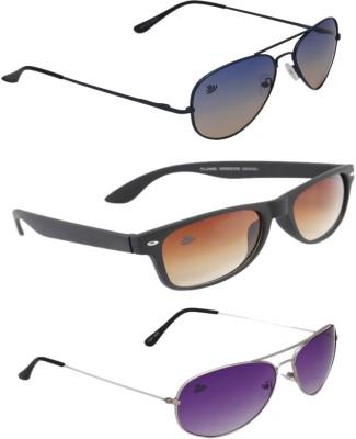 ABLOOM Aviator, Wayfarer, Aviator Sunglasses