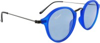 Camerii SAG117 Oval Sunglasses(Blue)