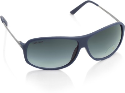 Fastrack P269BK1 Rectangular Sunglasses(Blue)