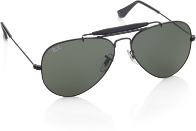 Ray-Ban 0RB3129I W0228 Aviator Sunglasses(Green)