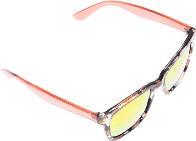 Amaze AM04706 Wayfarer Sunglasses(Orange)