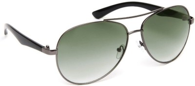 Olvin OL265-03 Aviator Sunglasses(Green)