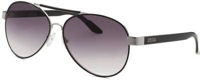 Kenneth Cole KC1233@6020B Aviator Sunglasses(Violet)