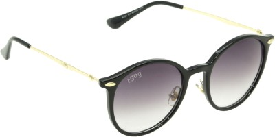 I-GOG Black Shaded Round Round Sunglasses