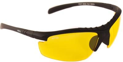 Abqa Bat HD Original Anti Glare Biking Night Driving Protection from Computer & TV Screen Wrap-around Sunglasses