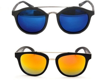 Edge Plus Round Sunglasses