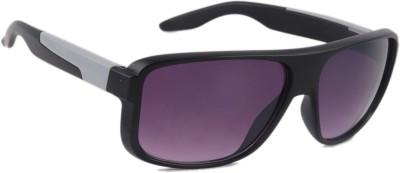 Joe Black JB-488-C4 Rectangular Sunglasses(Violet)